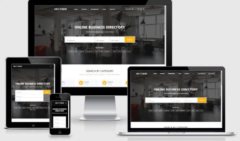 Responsive Directory Theme PremiumPress