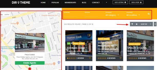 Search Module - Directory Theme PremiumPress
