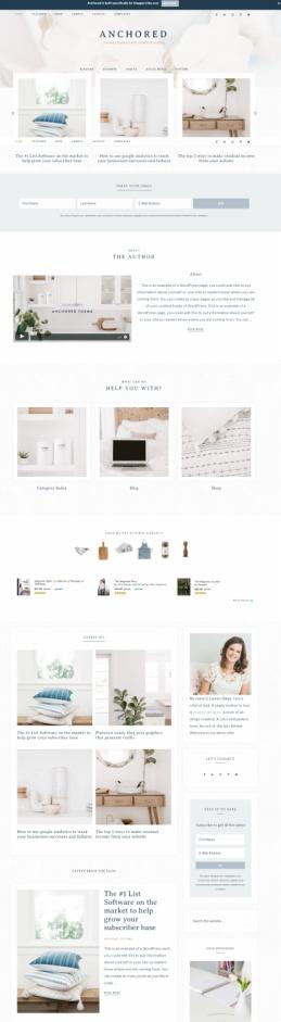 Anchored Theme - Restored 316 Genesis Business WordPress Theme