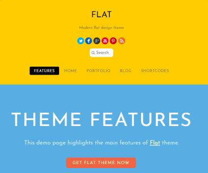 Flat - Content Styling Frontpage Modules