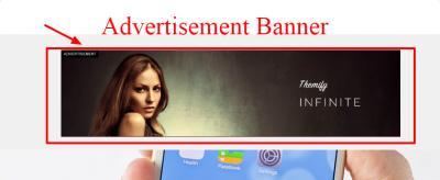 Infinite Ad Banner