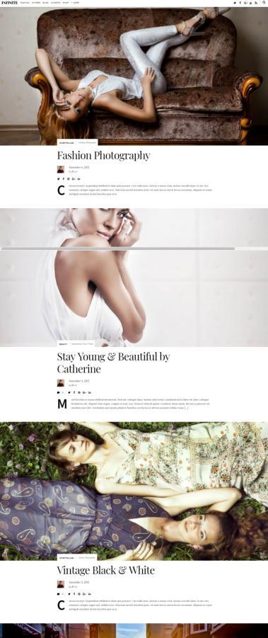 Themify Infinite Blogging Theme : Responsive WordPress Theme