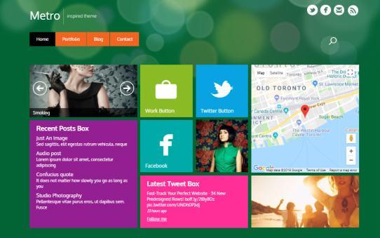 Themify – Metro Style Responsive Blog WordPress Theme