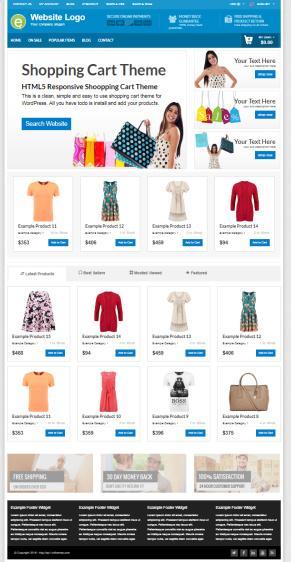 PremiumPress – Shopping Cart Theme : Best Ecommerce Shop Theme