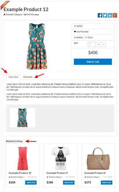 Store Product Management - Shopping Cart PremiumPress