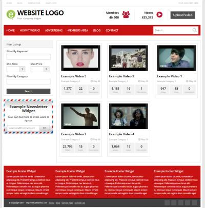 WordPress Video Blogging Theme : PremiumPress Themes