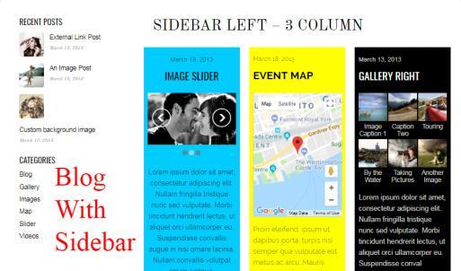 Bold - Blog With Sidebar