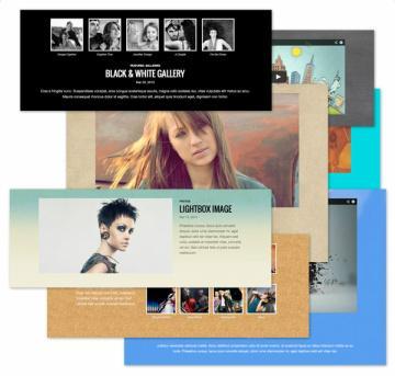 Bold Theme - Portfolio Grid