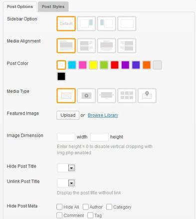 Bold - Themify Custom Options Panel