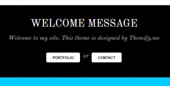 Bold - Welcome Message