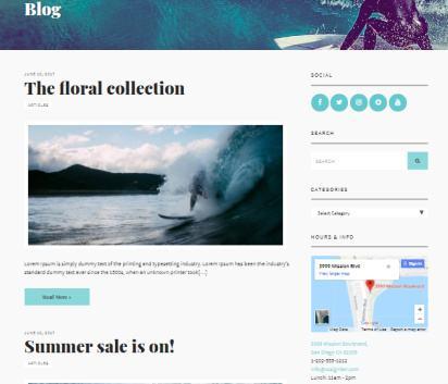 Flevr Blog for eCommerce Store