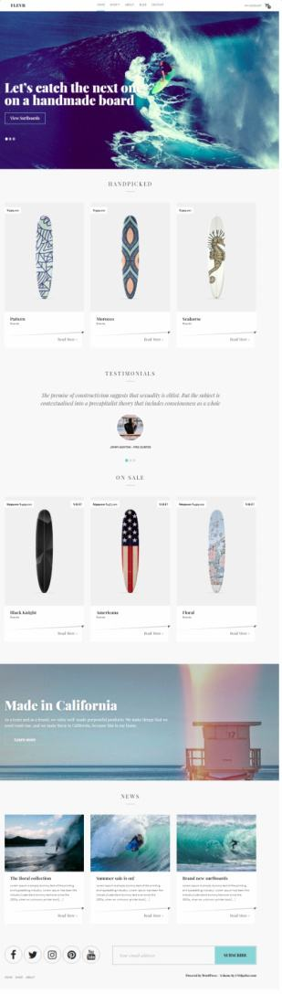 Flevr eCommerce Business Theme - CSSIgniter