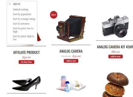 Shop Page - Pinshop Layouts