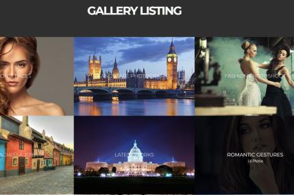 Vignette - Gallery Listing CSSIgniter