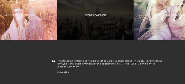Vignette Homepage Widgets