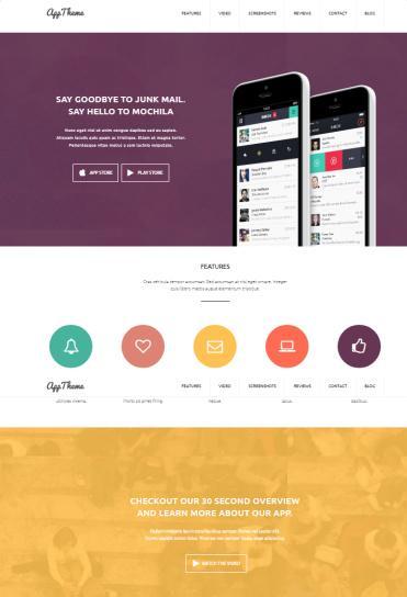 AppTheme MyThemeShop - Apps WordPress Theme