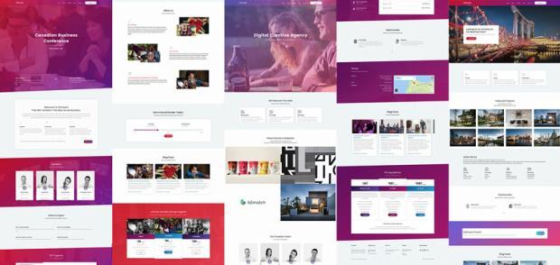 Attitude Homepage Demos - WPlook Themes