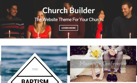 Church Builder - Drag and Drop Builder