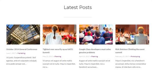 Conference Latest Posts