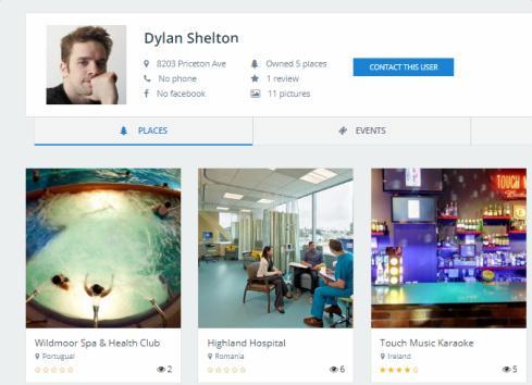 DirectoryEngine - Author Profile Page