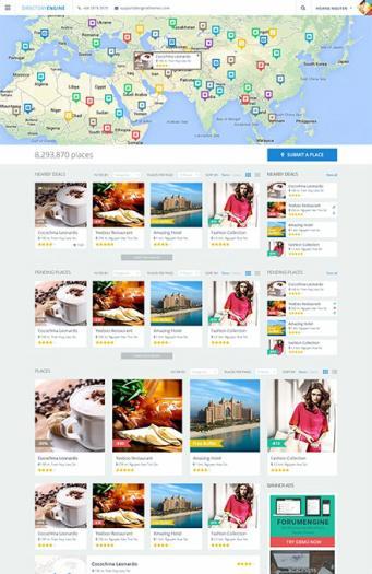 DirectoryEngine : EngineThemes Best Responsive Travel Directory Theme