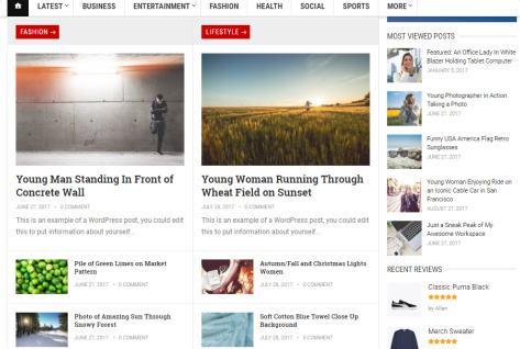 GoodPress Pro - Featured Post Homepage Widgets