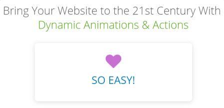 Thrive Architect Animation Styles