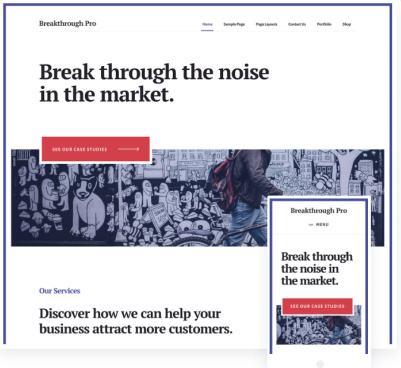 StudioPress Breakthrough Pro Theme : Genesis Business WP Theme