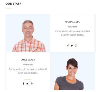 Charity - Staff Members