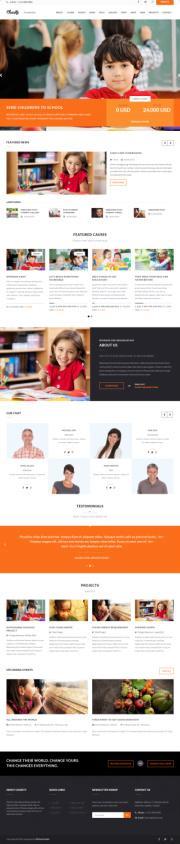 Charity WPLOOK – Top Charity/Nonprofit WordPress Theme