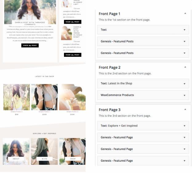 Dazzling - Widgets For Homepage