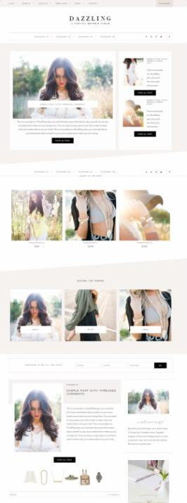 Dazzling Restored 316 : Premium Genesis Blogging Theme