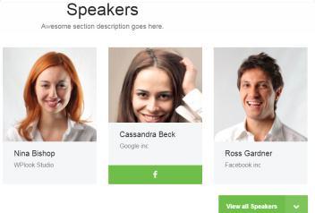 Event WPLook - Speakers