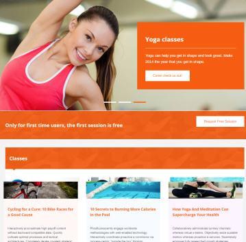 FitnessLife - Frontpage Slider