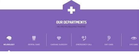 Health & Medical - Departments