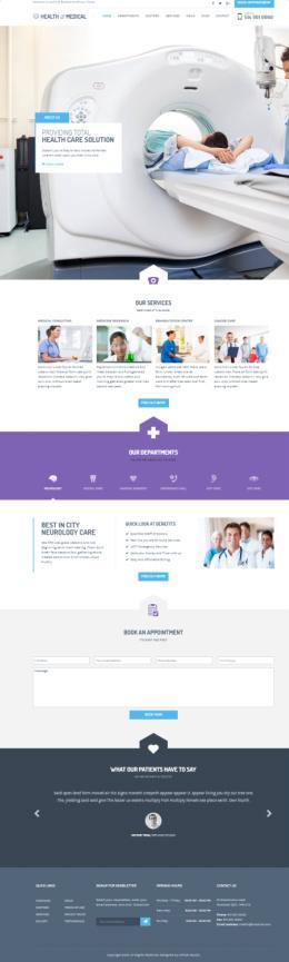 Health & Medical WPLOOK - Medical WordPress Theme