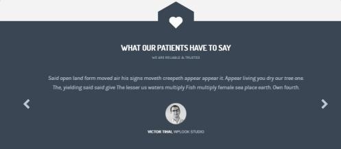 Health & Medical WPLOOK - Testimonials