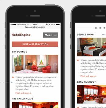 HotelEngine Mobile Adaptive Design