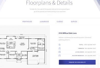 Skypoint - Floor Plans for Properties