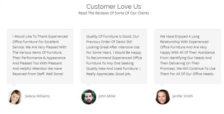 Colorway Ink Themes Testimonials
