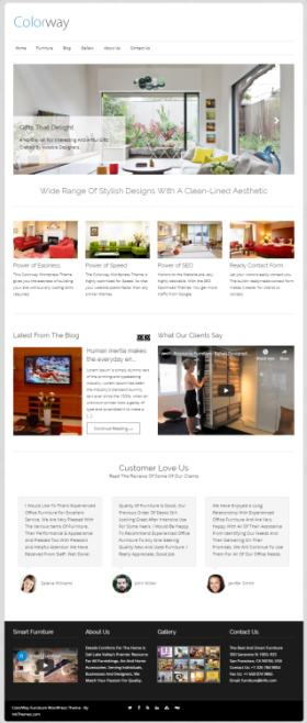 Colorway InkThemes : Best Premium Business WordPress Theme