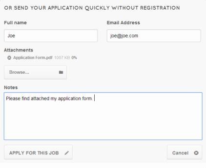 JobEngine Application