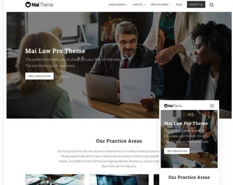 Mai Law Pro Homepage Responsive Attorney Theme