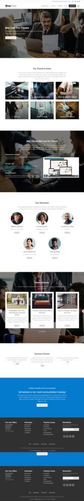 StudioPress Mai Law Pro : Genesis Lawyer Business WordPress Theme