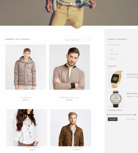 Narcos Shop Page