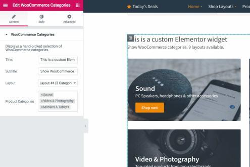 Nozama Homepage Widgets
