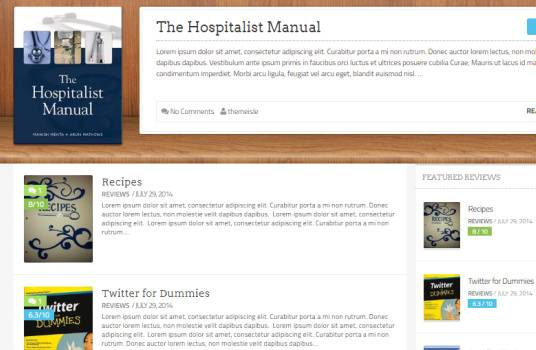 BookRev Homepage Slider