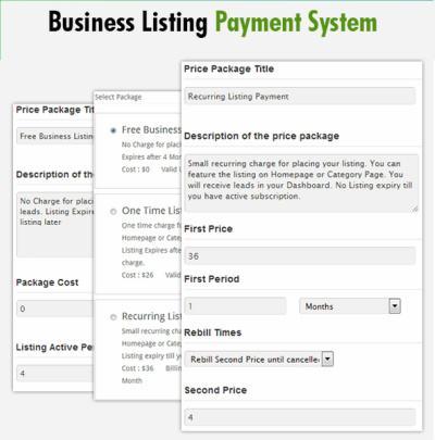 GeoCraft Custom Price Plans For Business Listings