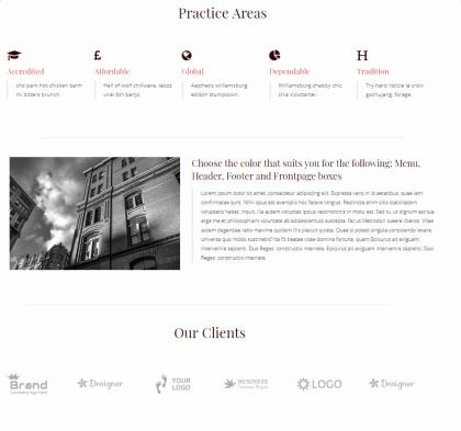 Lawyeriax - Practice Areas and Clients