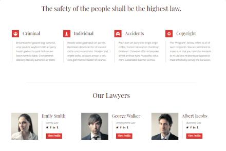 Lawyeriax - Ribbon and Lawyers Team Members